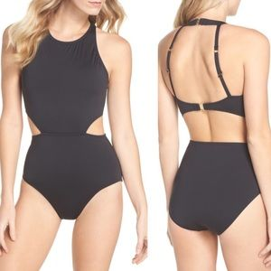 Tommy Bahama Pearl Cutout One-Piece Swimsuit Sz 8